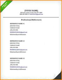 template for professional references resume professional references foodcity me
