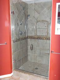 absolutely tiled shower stall idea unique marvellous inspiration medium size tile design picture image with seat