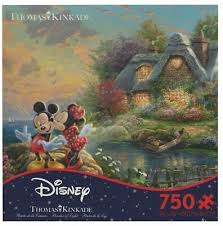 Woody, buzz and the toys together. Ceaco Thomas Kinkade 1000 Piece Puzzle Serenity Cove Jigsaw Toys Hobbies