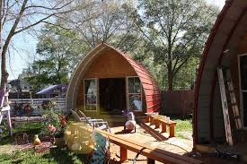 Small Picture Prefabricated Arched Cabins can provide a warm home for under
