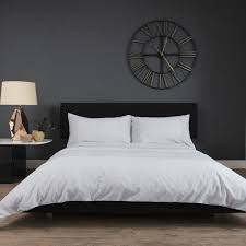 duvet cover set light grey hover to zoom