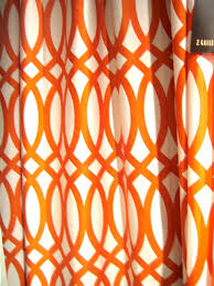 ace moroccan style orange curtains for charming ds windows treatment in modern interior decors ideas