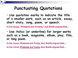 using quotations ppt  11 punctuating quotations