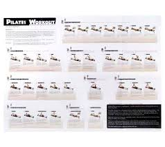 Pilates Wall Chart Pilates Reformer Exercises Chart Free Www