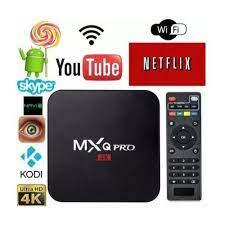 TV Box MXQ Pro 4k 5G Wi-fi Smart TV Android 11.1 4GB Ram + 64GB
