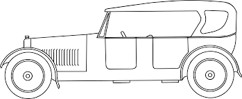 Classic car Line art Pickup truck Drawing CC0 - Line Art,Angle,Area ...