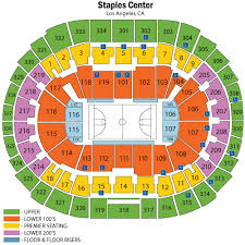 Clippers Game Seating Chart Staples Center Seating Chart Views And Reviews Los