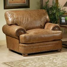 Omnia Leather Houston Chair and a Half & Reviews