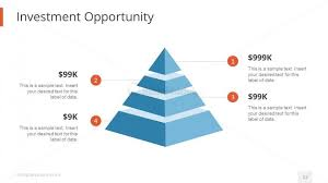 Investment Pyramid Chart Investment Opportunity Pyramid Template Slidemodel