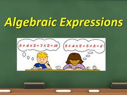 1 algebraic expressions 1