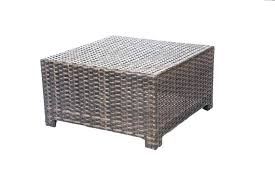 wicker patio side table plastic coffee outdoor outside end tables white full size of round tab wicker patio side table easy resin