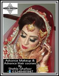 admissions open in all makeup hair and grooming courses plz dial 03248481987 shehlaghafoor bridalmakeupspecialist makeup psdf loreal glam
