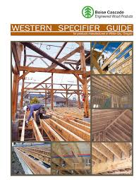 Boise Cascade I Joist Hole Chart Western Specifier Guide Boise Cascade Pages 1 36 Text