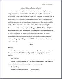 Essay Header Examples Apa Format Section Headings Examples