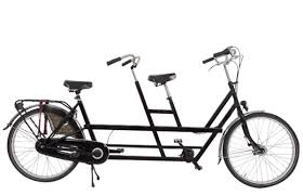 tandem bike rental amsterdam black bikes