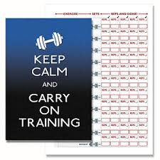 weight training log book fitness exercise gym log book weight training diary personal