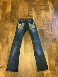 Platinum Plush Jeans Size Chart Met In Jeans Gold Angel Jeans In Light Blue With Gold Chains