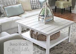 ... Ideas To Coffee Table, Enchanting Square Traditional Wood IKEA White Coffee  Table With Storage Design Which You ...