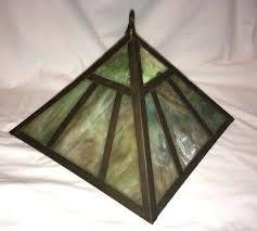 art deco lamp shades nz blue glass shade floor vintage antique brass slag light fixture lighting