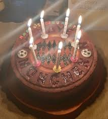 Girlfriend Baked A Nice Cake For My Birthday Fcbayern