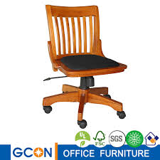 wooden swivel desk chair. Durable Wooden Swivel Desk Chair W Arms