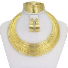 2019 <b>Liffly</b> Fashion <b>Dubai</b> Gold <b>Jewelry</b> Sets For <b>Women</b> African ...
