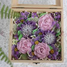 2019 1 boxromantic flowers box quilling paper flower box quilling paper diy decoration wedding gift from alxsye 82 76 dhgate com