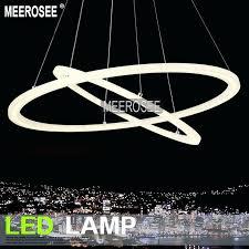 light modern led ring chandelier light fixture led circle suspension light high quality led lighting led pendant lights chandeliers home depot canada