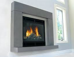 free standing gas fireplace surround ideas contemporary living room new