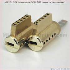MUL T LOCK Cylinders for SCHLAGE Double Cylinder Deadbolt Online