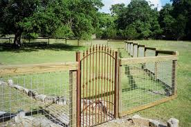 Decorative Security Fencing Cattle Fences And Gates Iron Gate Custom Wrought Iron With Stone