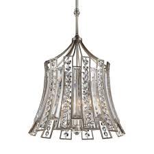 murray feiss f2946 4 esl soros 4 light 1 tier chandelier ebonized silver leaf