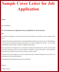 Sample Best Cover Letter For Job Shishita World Com