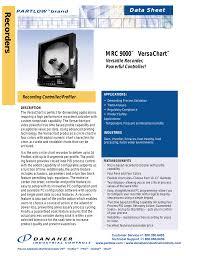 Partlow Mrc 5000 Circular Chart Recorder Partlow Mrc9000 Specs Manualzz Com