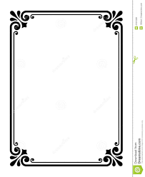 Easy To Make Border Designs 15 Simple Border Designs For Paper Images Simple