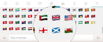 Flag Emoji Chart Regional Flag Support For Unicode In 2017