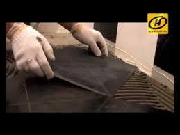Чем клеить керамическую плитку? Совет. - YouTube