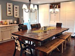 rustic kitchen chandeliers color