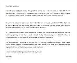 Complaint Letters To Companies Fascinating 48 Free Complaint Letter Templates PDF DOC Free Premium