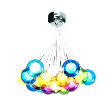 chandeliers multi colored chandelier glass with regard to design blown