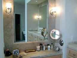 wall mounted lighted magnifying mirror lighted vanity mirror wall mounted wall mounted makeup mirror with light
