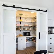 rolling barn door pantry