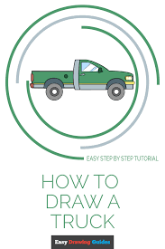 How to Draw a Truck – Really Easy Drawing Tutorial
