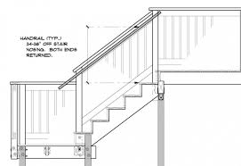 exterior stair height. stair handrail height outside deck latest code images 29 exterior