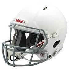 Amazon Com Riddell Speed Youth Helmet White Gray Large