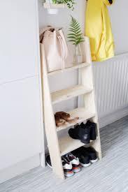 ladder shoe rack
