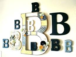 wall letters decorative wall letters decorative letter decor ideas b is for s epiphany crafts initial wall letters