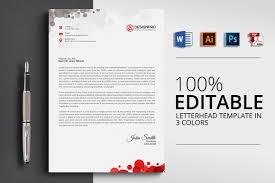 12 Templates For Letterheads Microsoft Word Resume Letter