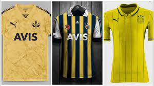 Fenerbahçe Yeni Sezon Tahmini Forma Tasarımları #puma - YouTube