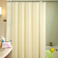 plastic shower curtains beige plastic shower curtain friendly waterproof mold proof solid bathroom curtains with hooks
